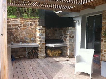 7 best BBQ Couvert images on Pinterest Kitchens, Wooden furniture