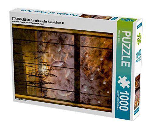 STRANDLEBEN Paradiesische Aussichten III 1000 Teile Puzzl... https://www.amazon.de/dp/B01LF11UQA/ref=cm_sw_r_pi_dp_x_r6RqybM3001FH #Puzzle #1000 #1000Teile #Geschenk #Weihnachten #Spielzeug #Basteln #Spass #Beschäftigung #Strand #Herzen #romantisch #kitschig #Fensterrahmen #Fenster #Sonnenuntergang #Ozean #Meer #Florida #Schilf #Abend