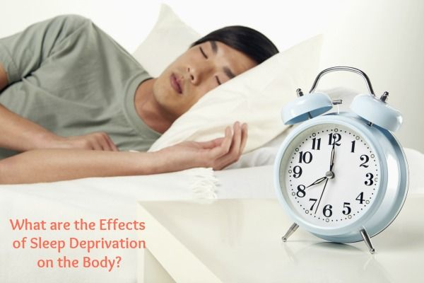 Sleep deprivation effects adult marriage