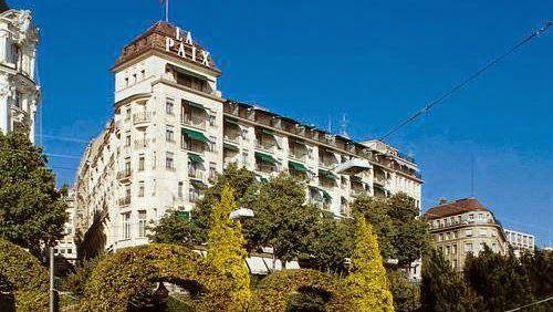 泊ってみたいホテル・HOTEL|スイス>ローザンヌ>最高のロケーションに位置し、レマン湖とアルプスの壮大な景色を眺めることができます>ホテル ドゥ ラ ペ ローザンヌ(Hôtel de la Paix Lausanne)