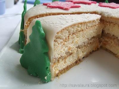 Tort cu piersici si mascarpone: Pe Zapada, Piersici Si, Cu Piersici, Torte Stele, De Piersici, Cream, Stele Pe, Recipes, Cream