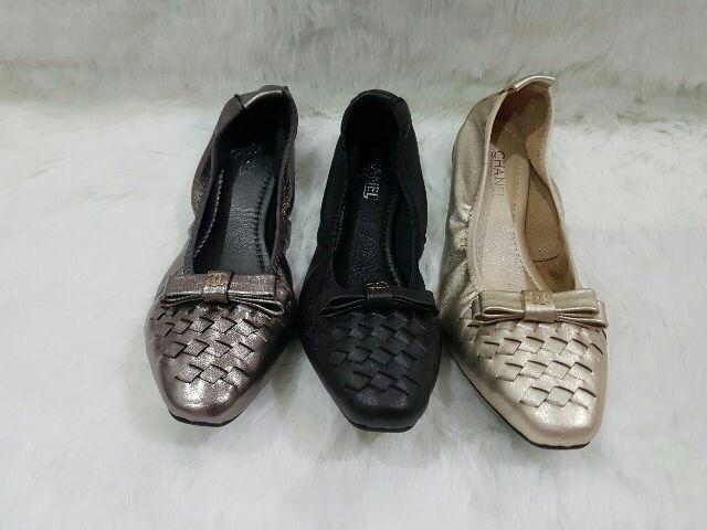 Sepatu Chanel Flat 4882 36-41 420rb