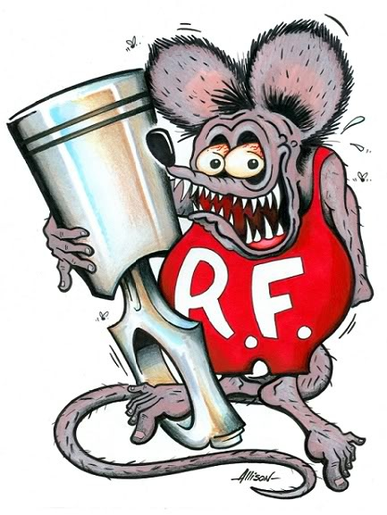 .rat fink. the year I lived at 118th and Yamhill...we'd go to the little store..it had 'grab bags' for like ten cents and you'd open it and get a rat fink ring...the coolest! i think it was in 1966-1967!
