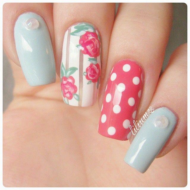<3 #nail #nails #nailart #unha #unhas #unhasdecoradas
