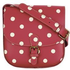 Cath Kidston - Spot Leather Cross Body Bag
