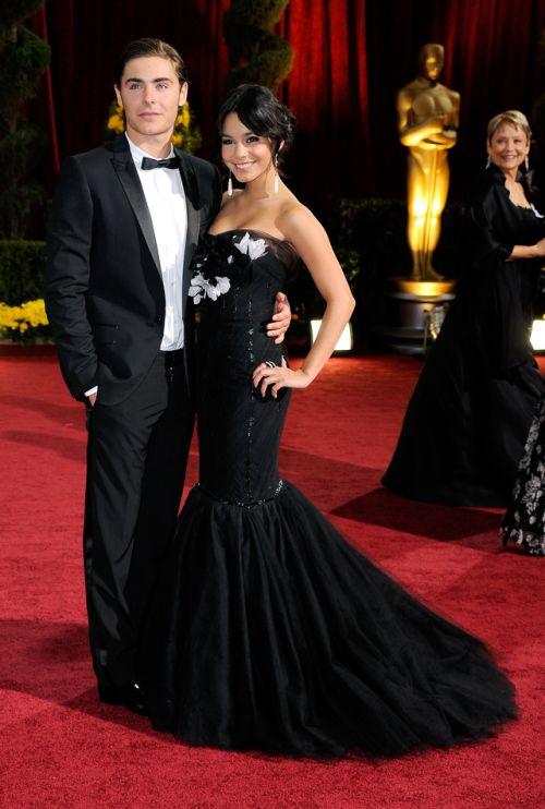 Vanessa Hudgens and Zac Efron at the 81st Academy Awards [2009]