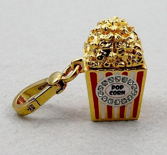 Juicy Couture charm popcorn