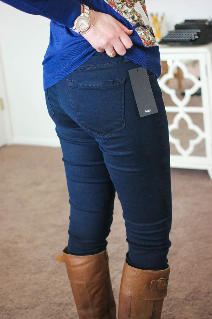 Like the way these jeans fit.  Not sure if they will look this good on me, but willing to try.