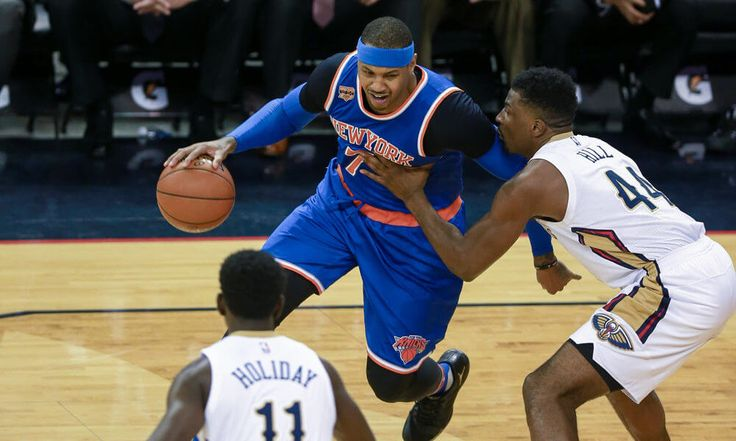 """Where in the NBA world should Carmelo Anthony go? = Don't let the Phil Jackson-Kristaps Porzingis """"beef"""" distract you from the fact that Carmelo Anthony is very much on the trade block. Whether he wants to regarding or not, Jackson was very vocal about his thoughts on the future for both Anthony and the New York Knicks, going so far as to say that….."""