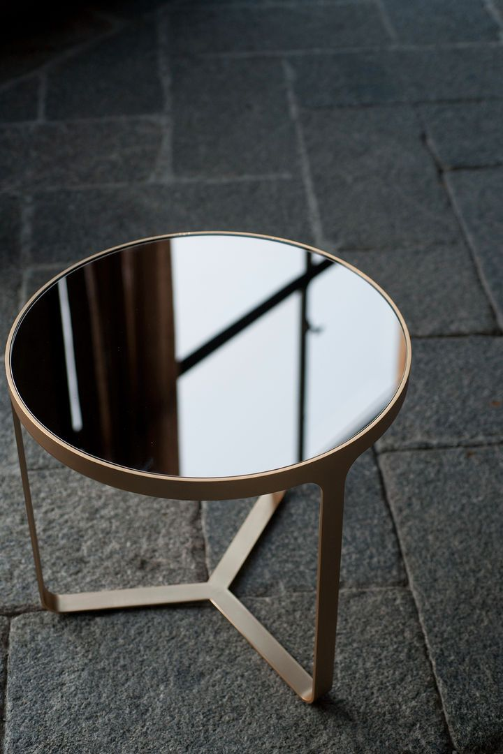 Cage Table by Gordon Guillaumier for Tacchini. Available from Stylecraft.com.au
