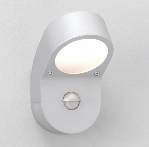 A Discreet Front Door Light With Sensor Motion Sensor