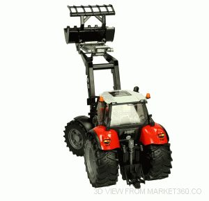 Same diamond Tractor 270 with Frontloader Bruder 03087