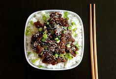 Boeuf de la Mongolie #recettesduqc #souper #boeuf #cuisinedumonde