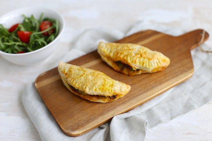 Zelfgemaakte empanadas