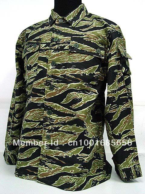 Армия сша война во вьетнаме тигра полосы камо немецкая армия пустынный камо BDU единая рубашка брюки