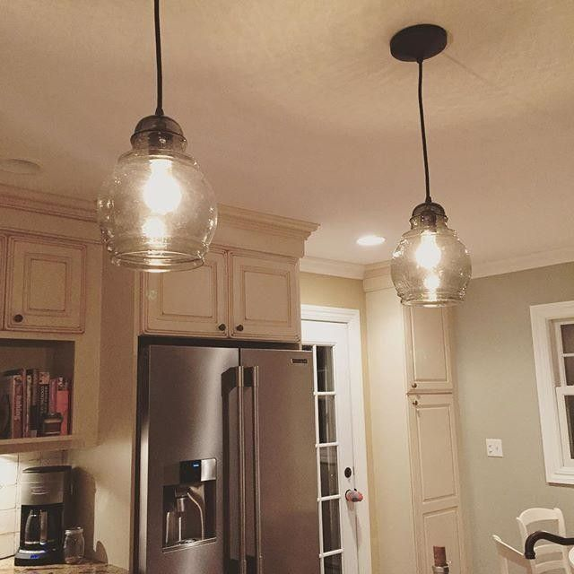 Pottery Barn Paxton Pendants House Pinterest Lighting Kitchen And