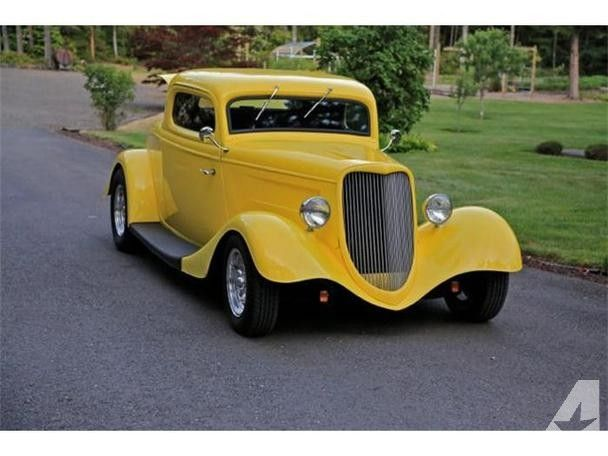1934 ford coupe for sale 1934 ford 3 window coupe for sale in seattle washington dream. Black Bedroom Furniture Sets. Home Design Ideas