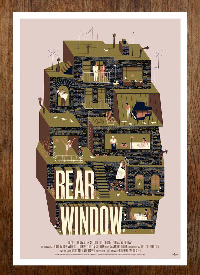 Rear Window - Universal/Mondo - www.adsimpson.com
