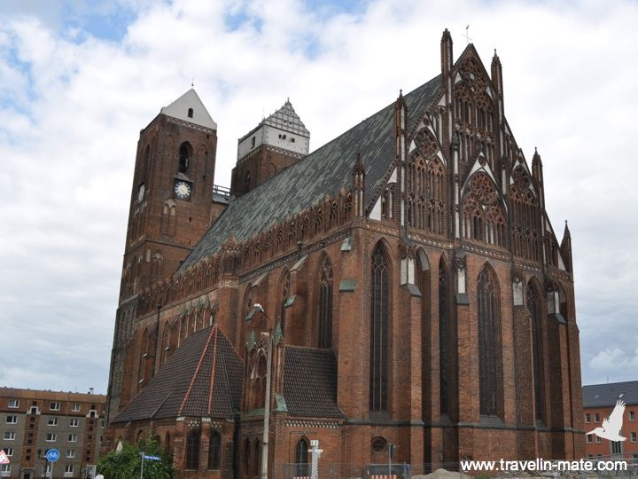 St. Mary's church in Prenzlau built in the 13th century