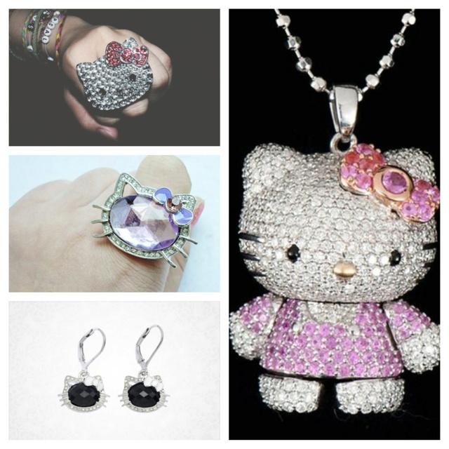 173 best i heart hello kitty images on pinterest hello kitty hello kitty diamond jewels mozeypictures Gallery