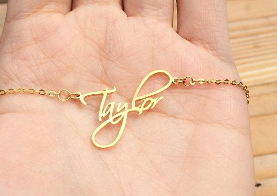Name Necklace Personalized necklace ANY NAME by MackenzieTreasury