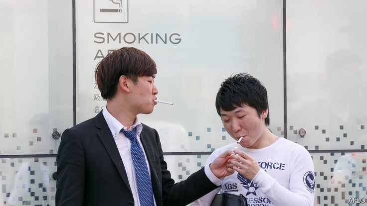 Japans government is in two minds about smoking