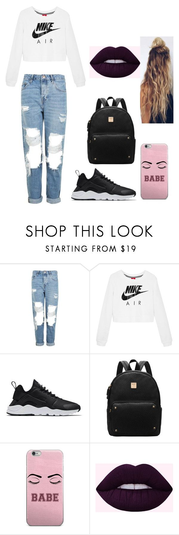 """""""Untitled #287"""" by timcaaa on Polyvore featuring Topshop and NIKE"""
