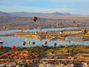 Havasu Island Balloon Festival and Fair - Lake Havasu City AZ United States - HotAirBalloon.com