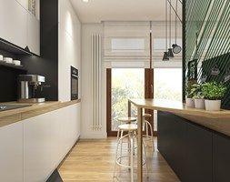 Trzy kąty - mieszkanie w Krakowie - Kuchnia, styl nowoczesny - zdjęcie od WERDHOME