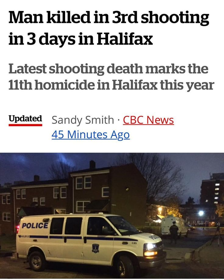 3rd Shooting in 3 days. From @cbcns   A man is dead after being shot outside a home on Halifax's Cragg Ave. late Monday night the 11th homicide this year in the Halifax region. . Halifax Regional Police said they received several calls that shots were fired at 11:07 p.m. When they arrived on the scene they found a man suffering from gunshot wounds outside a home off Uniacke St. . Paramedics took the man to the QEII Health Sciences Centre where he died. The man was 58 years old say police…