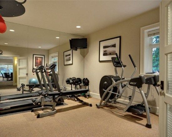 les 25 meilleures id es de la cat gorie salle sport sur pinterest ma salle de sport des. Black Bedroom Furniture Sets. Home Design Ideas