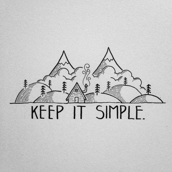 Comme Le Dessin L Indique Keep It Simple Dessin Pinterest