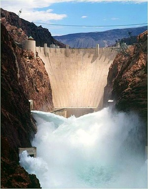 Boulder City Nevada - Hoover dam