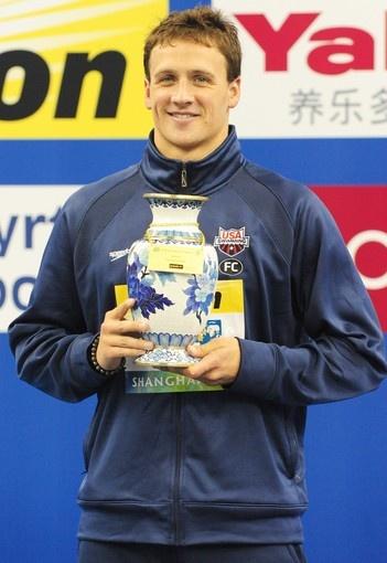 Ryan Lotche best male swimmer