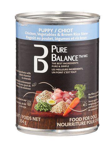 Pure Balance Puppy Chicken Vegetables & Brown Rice Dog Food