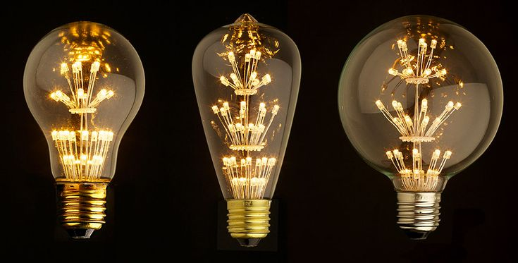Awesome Edison LED light bulbs! Learn more on LightsOnline Blog.