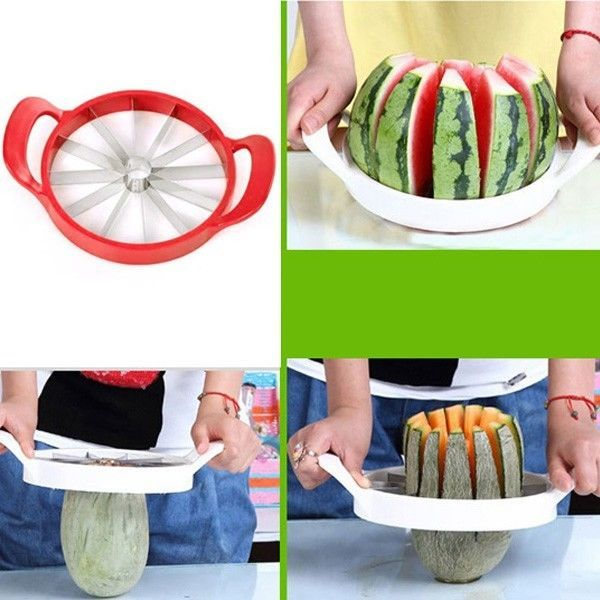 Watermelon Melon Cantaloupe Stainless Steel Cutter, order it here: http://ebay.to/1Fokk4O
