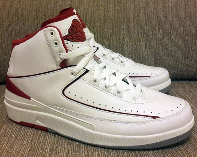 sale retailer 1da0b 4ca90 ... Air Jordan II OG – White   Varsity Red (June 2014) Release date ...