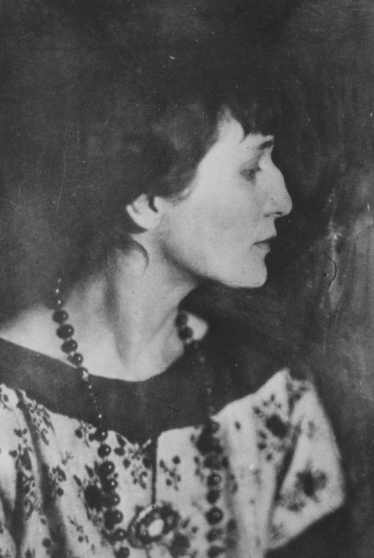 Анна Ахматова. 1920-е годы