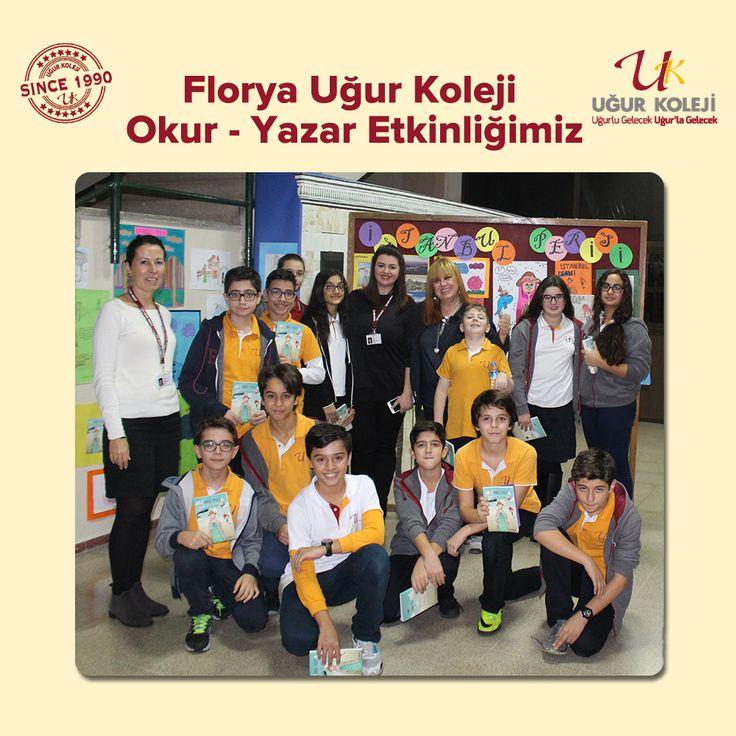 """Florya Uğur Koleji Türkçe Zümresi tarafından gerçekleştirdiğimiz Okur-Yazar etkinliğimizde, Yazar ve Arkeolog Betül Avunç'u bir kez daha okulumuzda konuk etmenin heyecanını yaşadık. 7. sınıf öğrencilerimizin son derece keyifle ve merakla okuduğu """"İstanbul Perisi""""nde, hikayenin peri masalları, mitos ve tarihin sezgi ve hayal gücüyle nasıl kaynaştığını ve zenginleştiğini gördük. Tarih boyunca nice efsanelere ev sahipliği yapmış büyülü şehrimizin geçmişine doğru fantastik bir yolculuğa çıktık."""