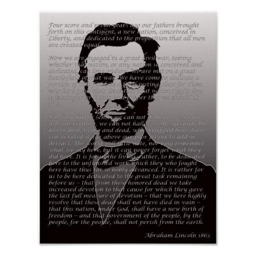 Gettysburg address date