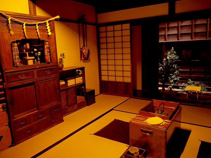 Traditional Japanese Interior.