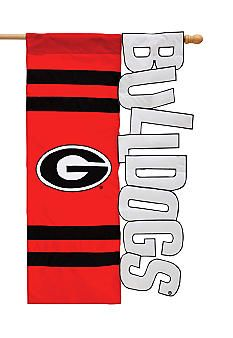 Evergreen Georgia Bulldogs Small Flag #belk #Georgia #college