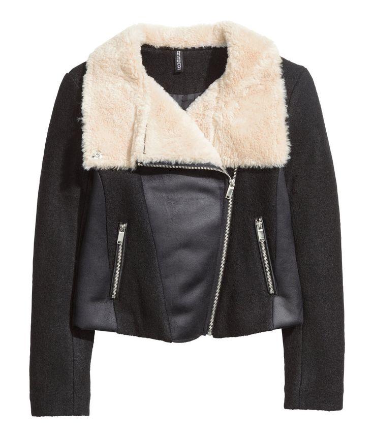 Wool-blend Pilot Jacket | H&M Divided
