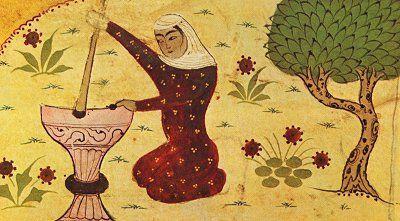 Rabi'a al-'Adawiyya, an 8th century woman, an Islamic saint from Iraq