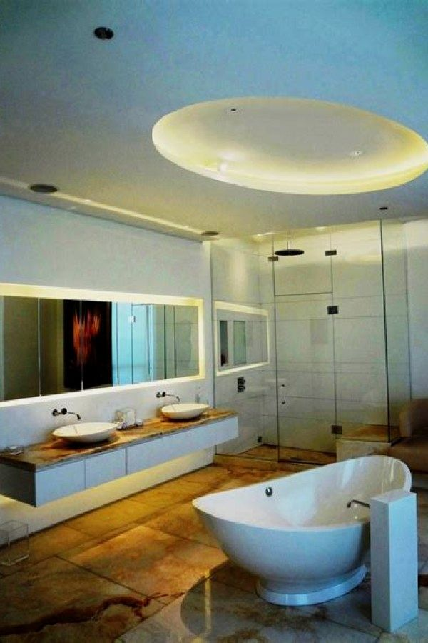 12 Creative Bathroom Lighting Ideas To Complement Your Bathroom ...