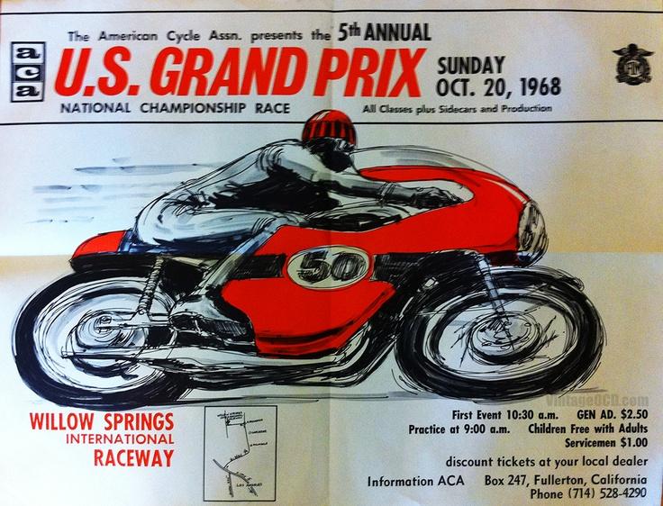 US Gran Prix, Willow Springs, 20 oct 1968
