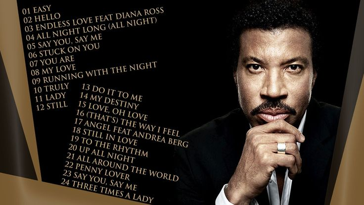 LIONEL RICHIE - The Best Music Mix Chapter One