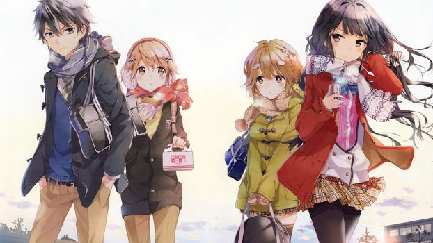 Masamune-kun No Revenge Mi seria favorita durante toda la temporada de animes invierno 2017 /(-3-)/