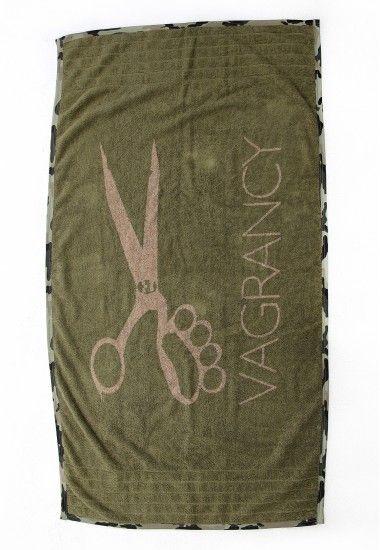 khaki beach towel #beachtowel #vagrancy #towel